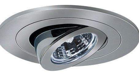4 low voltage recessed lighting 40 degree adjustable chrome gimbal trim mozeypictures Images