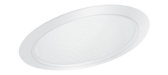 6 Quot Slope Recessed Lighting Sloped Stepped White Baffle