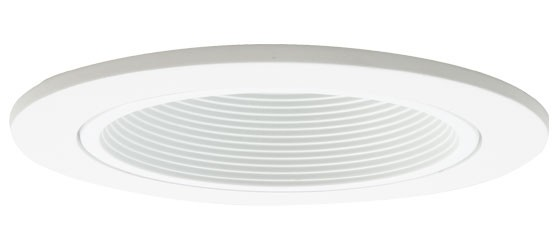 4 recessed lighting white baffle white trim aloadofball Gallery