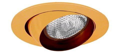 4 recessed lighting polished brass eyeball trim for rpar 20 lamp aloadofball Gallery