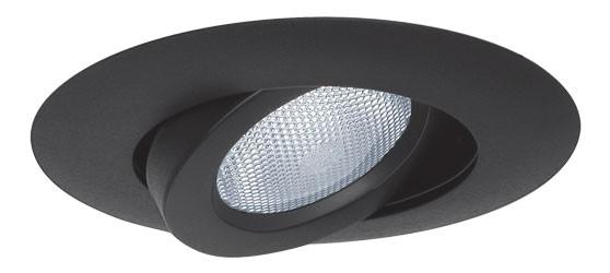 5 recessed lighting black adjustable gimbal trim mozeypictures Images
