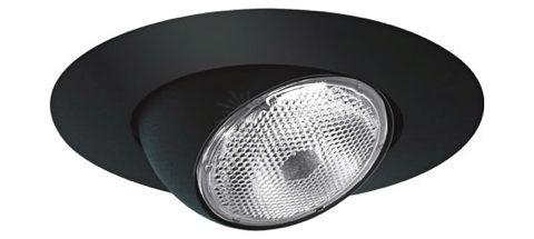 6 recessed lighting black eyeball trim mozeypictures Gallery