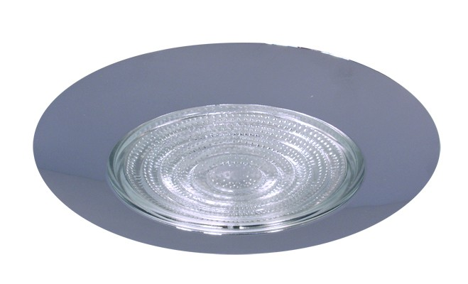 6 recessed lighting compact fluorescent fresnel glass lens chrome 6 recessed lighting compact fluorescent fresnel glass lens chrome shower trim aloadofball Images