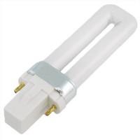 CFL 5watt PL bulb 1U 2-pin G23 27K 10,000 hrs