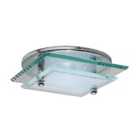 "3"" Low voltage recessed lighting decorative glass onyx chrome trim"