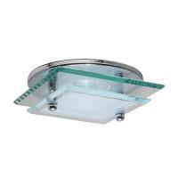 "3"" Low voltage recessed lighting decorative glass onyx chrome trim"