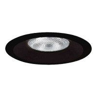 "6"" Recessed lighting Par 30 R 30 black splay trim"