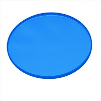 Recessed lighting Blue dichroic glass filter low voltage MR 16 lens