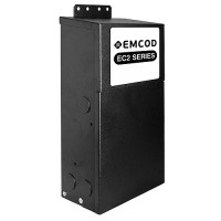 Cabinet lighting EMCOD EM2-200S24DC 200watt 2 X 24volt LED DC transformer driver indoor outdoor magnetic dimmable Class 2