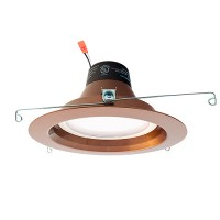 "Green Watt 5"" or 6"" dimmable LED recessed lighting 13watt retrofit bronze reflector trim 4000K DL6DWP-13W-4000K-ORB"