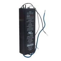 Under cabinet GE LighTech LET-151-24 150 watt 24 volt AC electronic encapsulated rectangle transformer