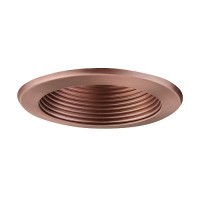 "6"" Recessed lighting 14watt LED retrofit bronze baffle bronze trim"
