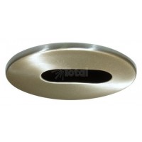 "2"" Recessed lighting satin adjustable slot trim"