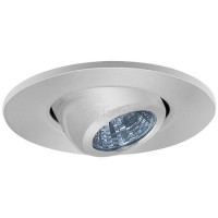 "2"" Recessed lighting adjustable MR11 chrome eyeball trim"