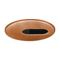 "4"" Low voltage recessed lighting adjustable copper slot trim"