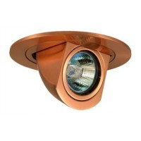 "4"" Low voltage recessed lighting copper retractable trim"