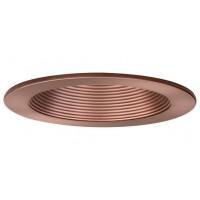 """4"""" Recessed lighting compact fluorescent (CFL) bronze baffle bronze trim"""