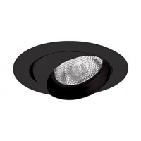"4"" Recessed lighting black eyeball trim for R/Par 20 lamp"