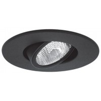 "4"" Recessed lighting Par 20 black gimbal ring trim"