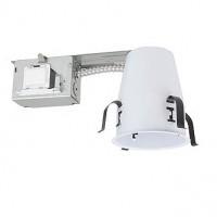 "4"" Recessed lighting PL 13 watt retrofit fluorescent non-IC air tight remodel housing"