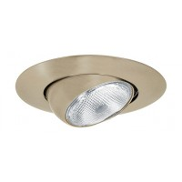 "5"" Recessed lighting Par 30 short neck satin eyeball trim"