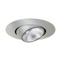 "6"" Recessed lighting chrome eyeball trim"