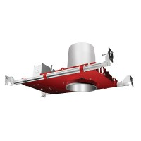 "Fire Rated 4"" recessed lighting air tight IC housing, 1-Hour L500 P500, 2-Hour L505"