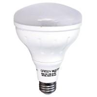 Recessed lighting Green Watt LED 8watt BR30 2700K flood light bulb dimmable LED-8W-BR30/827-DIM