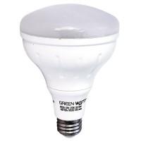 Recessed lighting Green Watt G-L2-BR30D-11W-5000K LED 11watt BR30 5000K flood light bulb dimmable
