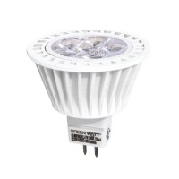 Recessed lighting LED 7watt MR16 5000K cool white 25° narrow flood light bulb low voltage dimmable