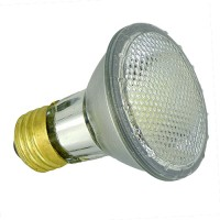 Recessed lighting 50 watt Par 20 halogen flood light bulb single