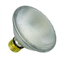 Recessed lighting SYLVANIA 16129 Par 30 Short Neck CAPSYLITE 60 watt Wide Flood halogen light bulb 120volt