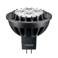 Recessed lighting Philips 461590 LED MR16 7watt 3000K 35° flood light bulb GU5.3 dimmable