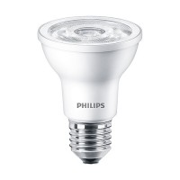 Recessed lighting Philips 463687 LED Par20 6watt 3000K 35° flood AirFlux light bulb dimmable 6PAR20/LED/830/F35/DIM SO 120V 6/1