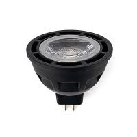 Architectural Grade LED MR16 GU5.3 Low Voltage Light Bulb Narrow Flood 3000K Smart Dim black