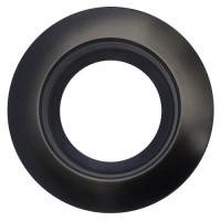 """Sylvania 75097 RT5/6/TRIM/BLK 6"""" black reflector black trim ring kit for ULTRA RT/5/6 & RT6 LED retrofit trims"""