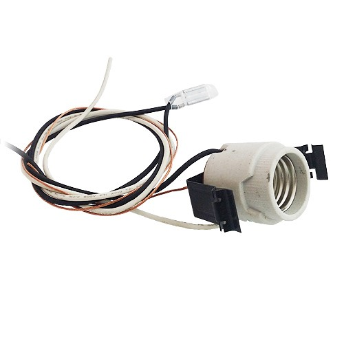 Recessed lighting sockets socket adapters 5 recessed lighting socket with pigtail and over heat sensor aloadofball Image collections