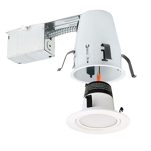4 Quot Led Recessed Lighting Remodel Ic Air Tight 2700k Led