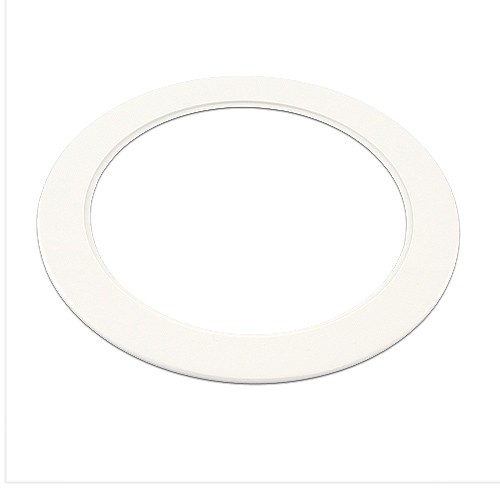 """6 Inch Par30 Adjustable Gimbal Ring Trim White Recessed: 6"""" Recessed Over Sized White Trim Goof Ring"""