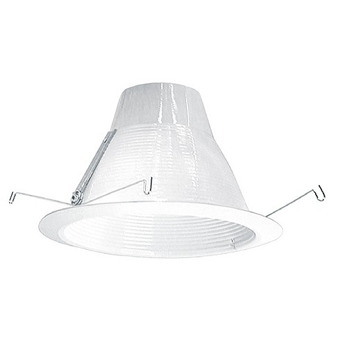 6 Recessed Lighting Air Tight White Baffle White Trim