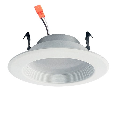 4 Dimmable Led Recessed Lighting 13watt Retrofit White Baffle Trim Cool White 5000k Dl4dwp 13w 50k
