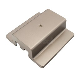 Track lighting satin floating power feed 3-wire H-style single circuit