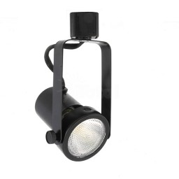 PAR20 BLACK gimbal ring track light fixture head