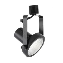 PAR30 BLACK gimbal ring track light fixture head