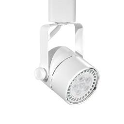 GU10 MR16 WHITE mini round track light fixture head