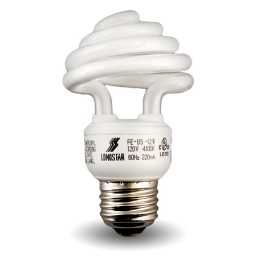 Top Spiral Compact Fluorescent Lamp - CFL - 15 watt - 50K