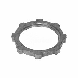"1/2"" Die-Cast Zinc conduit locknut electrical fitting"
