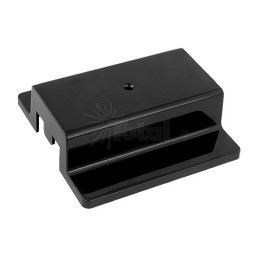 2 Circuit Track Power Canopy Cover Architectural Black H-style
