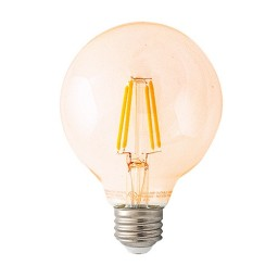 Track lighting LED vintage filament G25 4.5watt globe light bulb 2700K Warm White dimmable G-G25D4-5W27