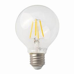 Track lighting LED vintage filament G25 4.5watt globe light bulb 2700K Warm White dimmable G-G25D4-5W27